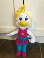 Chuck E Cheese Birdie Plush Doll