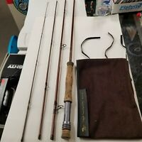 TEMPLE FORK OUTFITTERS 9FT 8WT 4PC FLY ROD  WITH SOFT CASE