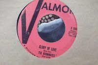 45X THE ROOMMATES NEVER KNEW GLORY OF LOVE ON VALMOR RECORDS