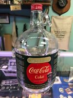 Antique Vintage Glass Coca Cola  Syrup Jug with Paper Label Serial OF211130 Rare