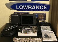 Great Condition Lowrance HDS-10 Gen2 Fish Finder Graph Structure Scan Lss-2 GPS