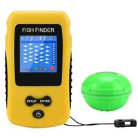 Portable Fish Finder Wireless Transducer Fish finder for Boat,Kayak Ice Fishing