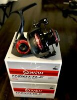 Lot Of 2 - QUANTUM THROTTLE TH30 SPINNING REELS - 10+1 Bearings 5.2:1 Gear Ratio