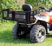 Universal ATV Rack Vehicle Storage Racks Steel Cargo Hunting UTV Drop Basket