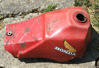OEM 1983 1984 HONDA 250R GAS FUEL TANK 250 R w/ PETCOCK ATV THREE WHEELER ATC