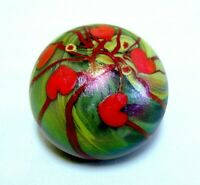 Lundberg Studios Art Glass Paperweight dated 1973 signed Cantor
