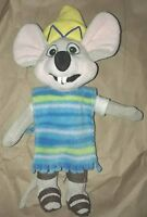 Chuck E Cheese Limited Edition Fiesta Sombrero Soft Plush Doll Stuffed '18 12