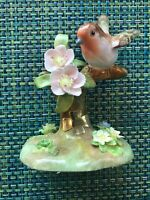 CROWN STAFFORDSHIRE J.T. JONES ROBIN #5 FINE BONE CHINA FIGURINE No Box EUC