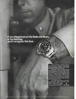 1966 Rolex Submariner Watch If You Shipped Out Tomorrow Army Vintage Print Ad