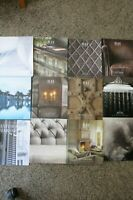 *RH Restoration Hardware Source Books 2012 & 2014 Magazines Catalogs Lot of 12