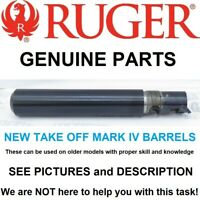 Factory Ruger Mark IV 5.5 Blued Bull Barrel can be used on MK 1 2 3 4 SEE PICS