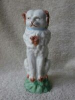Antique 1800's Staffordshire Sitting Dog Figure 5 3/4