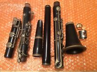 Vintage BUESCHER  CLARINET Parts Repair Re-Store -USA