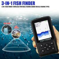 Wireless Portable Sonar LCD Fish Finders Echo Video Sounder Fishing Finder Tools