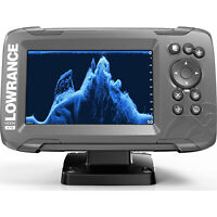 Lowrance HOOK2 5 - 5-inch Fishfinder GPS with SplitShot Transducer and US Maps