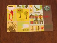 Starbucks Card 2006 Aspire Give Grow Connect Limited Edition Old Logo VERY Rare