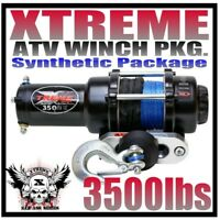 3500LB XTREME ATV Winch Polaris Sportsman 2011-20 400,500,570,800,1000