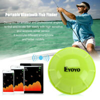 Eyoyo Bluetooth Wireless Sonar Sea Fish Finder APP With Fish Alarm Boat Fishing