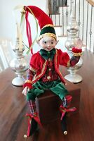 Elf Raz Imports Elf Christmas Poseable 20