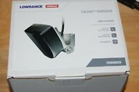 lowrance livesight transducer with mounting hardware real time sonar new in box