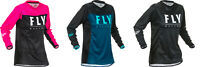 Fly Racing Women's Lite MX Jersey ATV BMX MTB Youth & Adult All Colors & Sizes