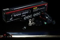 12quot; Shock Tower LED Light bar with Halo DRL Wire Harness Offroad UTV X3 ATV 12v