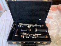 Professional 1934 Buffet R-13 Bb Clarinet w/ Extra Barrel and Nice Case