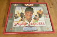 Vintage Seagrams 7  Sports Willie Stargell mirror