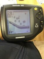 Humminbird fishfinder 565 head unit with swivel mount and power cord