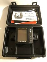 Eagle Supra Pro I.D. Depth Fish Finder Display Head ONLY No Cord W Case