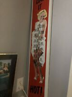 Marilyn monroe some like it hot thermometer