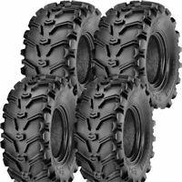SET OF 4 KENDA K299 BEAR CLAW ATV TIRES 25-8-12 FRONT & 25-10-12 REAR 2 OF EACH