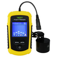 Wired Fish Finder Sonar 100M 328ft with Clear LED Backlight for Night Fishing