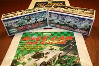 2009 Hess Race Car + 2011 Hess Truck and Racer __ 100% Mint-in-Box from case
