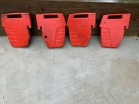 case farmall J D   80 LB  Tafco ?  Tracktor Suit Case Weights