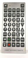 JUMBO Universal Remote Control Large Buttons $9.95