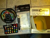 Combo CLector FX10 Lake System Fish Finder Tracker PH Color Temperature 1984