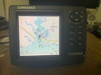 Lowrance LMS-520C fish finder GPS Chart