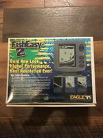 Eagle Fish Easy 2 Fish Finder w/Transducer New in Box