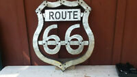 Route 66 Sign, Metal