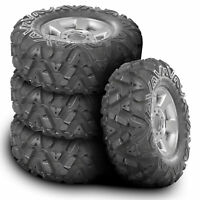 4 GBC Dirt Tamer 27x11-12 27x11.00-12 6 Ply A/T All Terrain ATV UTV Tires