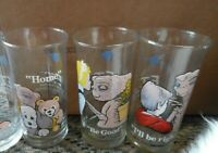 Vintage set of 3  Pizza Hut E.T.  drinking glasses- home- home Be good -be right