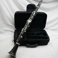 Buffet Crampon E11 Bb Wood Clarinet, New Pads, Silver Plated!