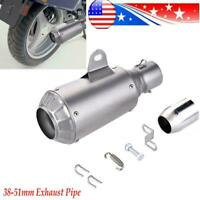 Universal Exhaust Muffler Pipe with DB Killer for Motorcycle ATV Exhaust 38~51mm