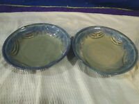 BAY POTTERY~Stoneware~Serving Bowls~Set of 2~Handcrafted~Virginia~NICE!