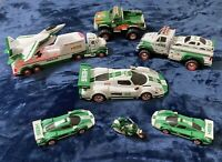 Lot Of 9 HESS Toy Cars, Trucks, Plane