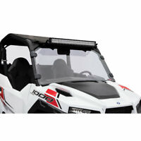 Tusk Removable Full Windshield  - Fits: Polaris GENERAL 4 1000 EPS 2017-2020