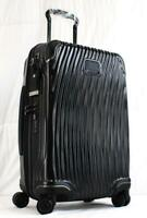 TUMI LATITUDE INTERNATIONAL HARDSIDE SPINNER CARRY ON SUITCASE 287660 BLACK