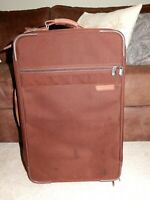 "BRIGGS & RILEY 22"" Ballistic Baseline Rolling Carry On Suitcase Luggage"