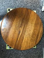 Cornwall Vintage Beautiful Condition Wooden Lazy Susan 16